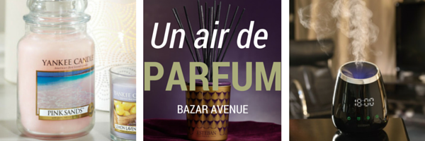 un air de parfum bazar avenue le blog. Black Bedroom Furniture Sets. Home Design Ideas