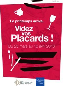 L 39 op ration videz vos placards 2016 chez bazar avenue - Confederation des arts de la table ...
