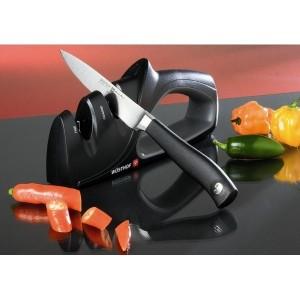 Aiguiseur double pour l'affûtage des couteaux