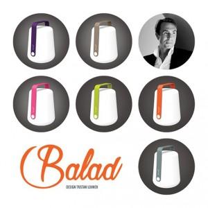 6 couleurs disponibles pour la lampe Balad de Fermob