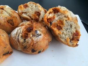 Les petits pains au chorizo et olives avec le Cook Expert.
