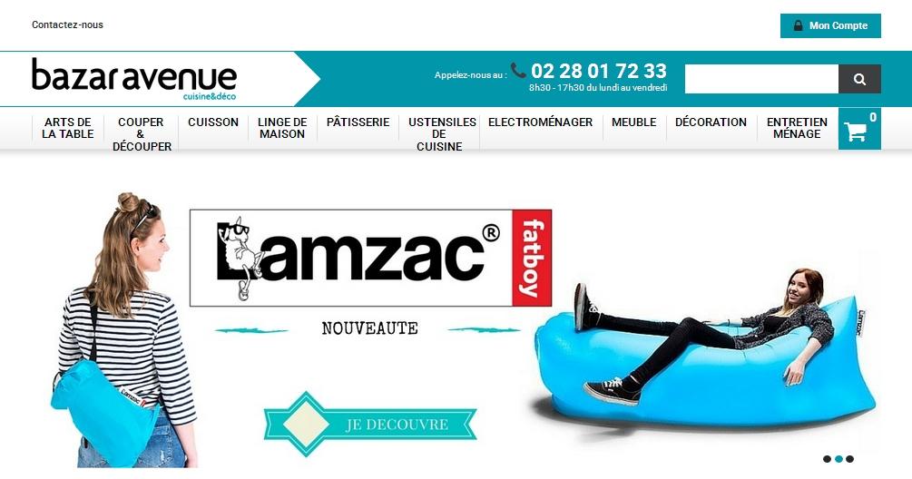 Le nouveau site Bazar Avenue !