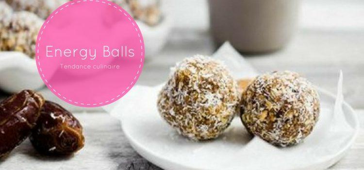 La nouvelle tendance culinaire : Energy Balls