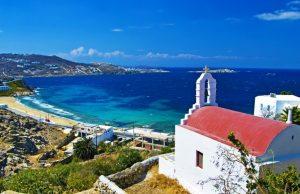 Plage des îles grecques