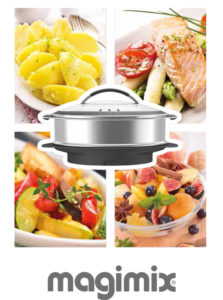 Réalisez toutes vos envies avec le cuiseur vapeur xl pour cook expert