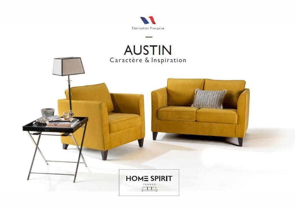 Fauteuil et canapé Austin Home Spirit