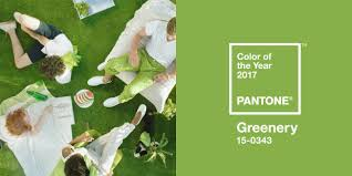 Le pantone Greenie