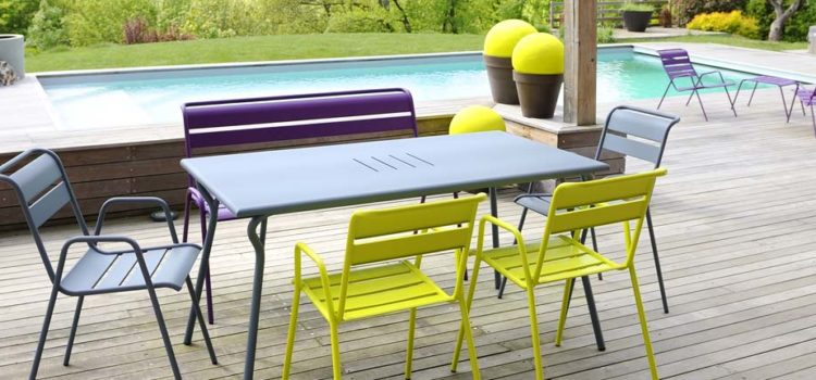 Vos meubles de jardins comme neufs pour cet été !