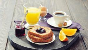 Combattre la fatigue de l'hiver, le petit déjeuner